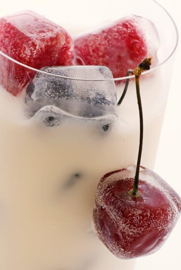 owoc zamarznięty milkshake fotografia royalty free
