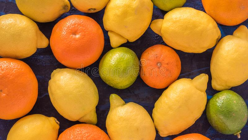owoce cytrynowego zdjęcia royalty free