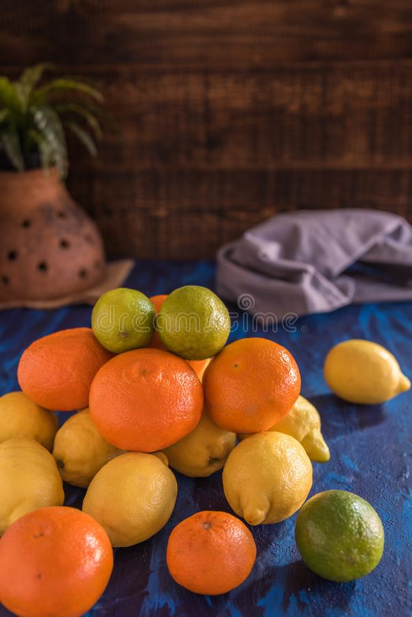 owoce cytrynowego obrazy royalty free