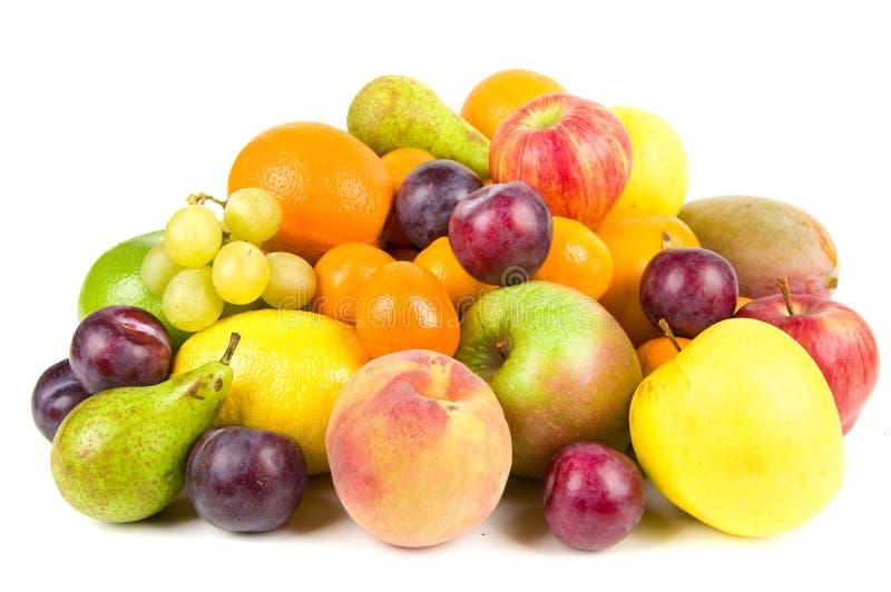 owoce kołek odizolowane zdjęcia stock