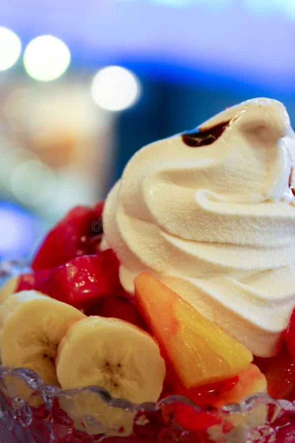 owoce kremowy lodu obrazy royalty free