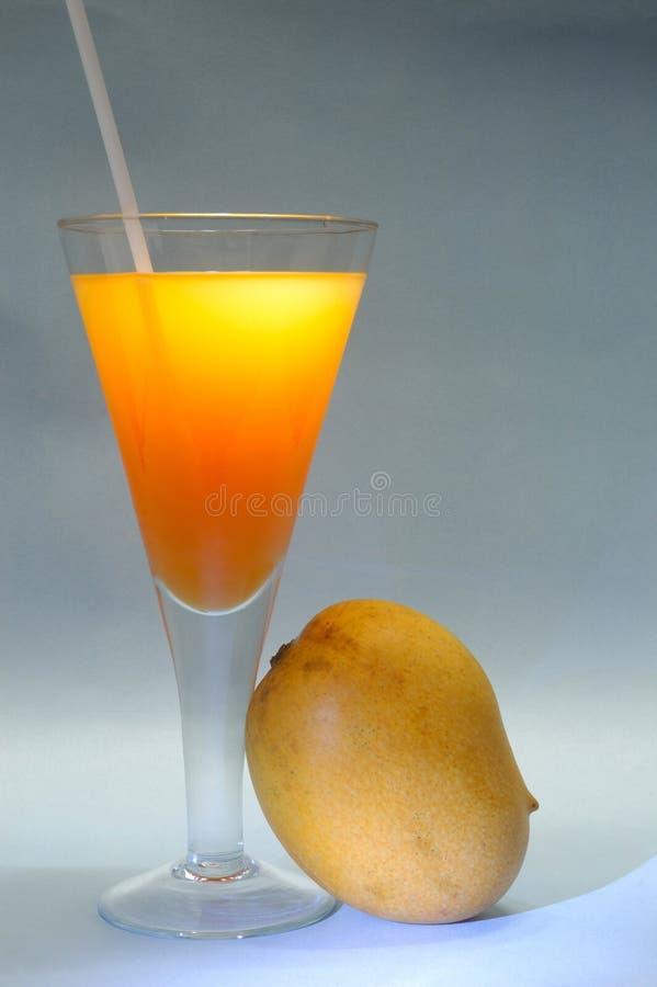 owoce mango soku fotografia stock