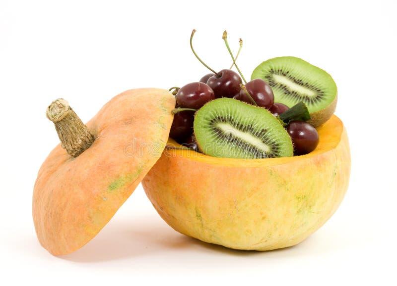 owoce mieszane sałatkę zdjęcie stock