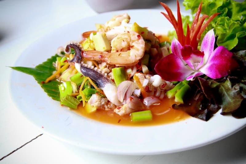 owoce morza tajlandzki korzenny zdjęcia stock