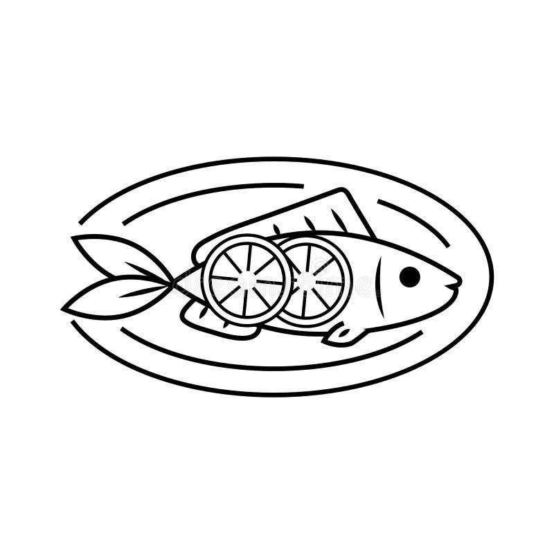 Owoce morza wektoru ikona ilustracja wektor