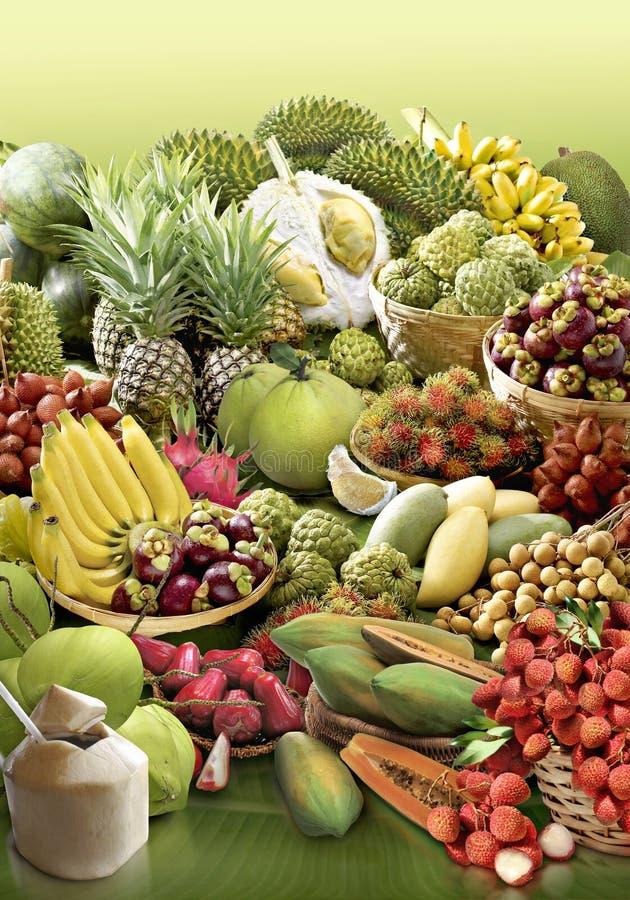 owoce tropikalne obrazy royalty free