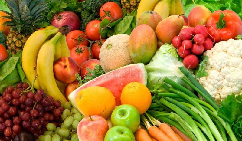 owoce, warzywa zdjęcie stock