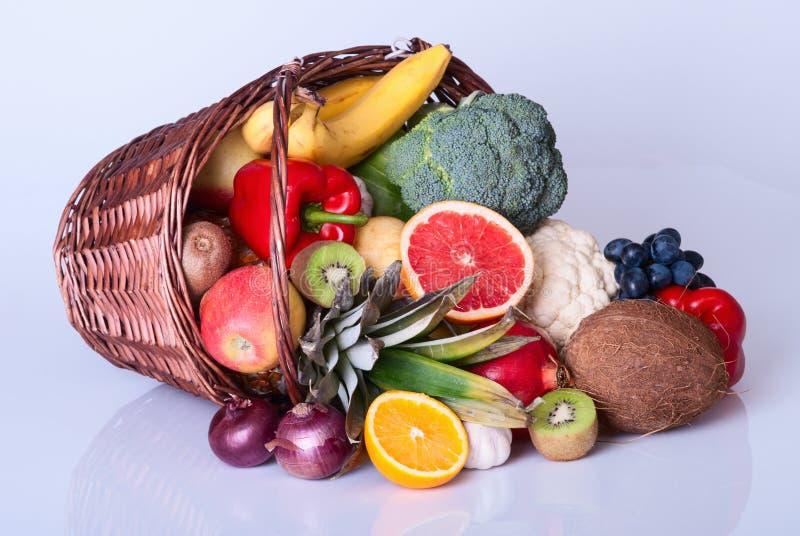 owoce, warzywa obraz stock