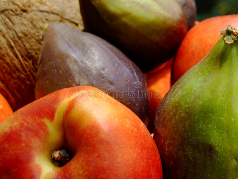 owoce zmieszana obrazy stock