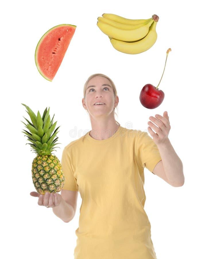 owocowa żonglerka obrazy stock
