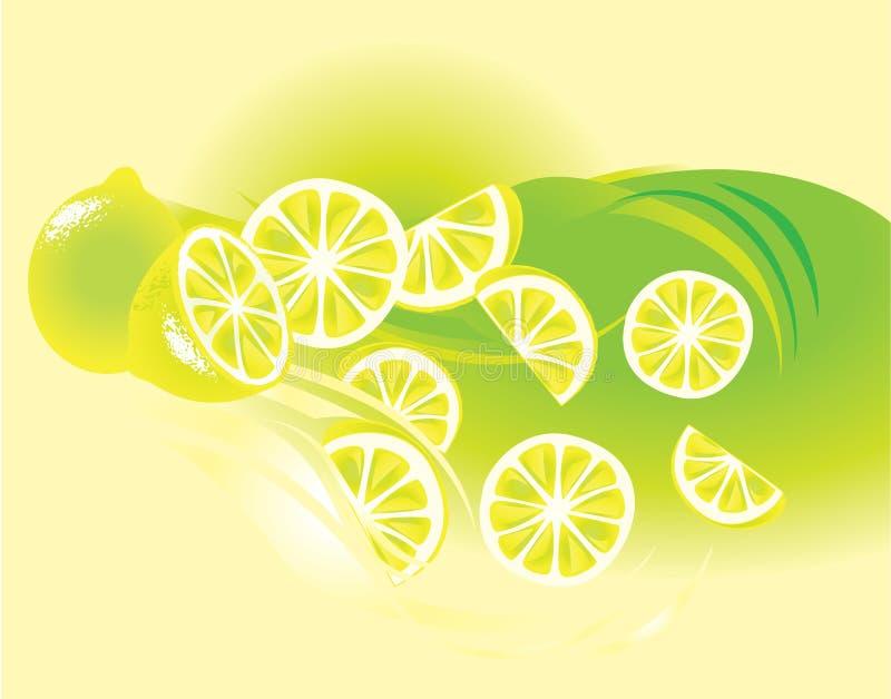 owocowa cytryna ilustracji