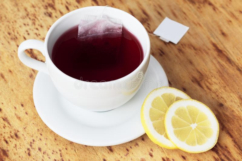 owocowa filiżanki herbata obrazy stock