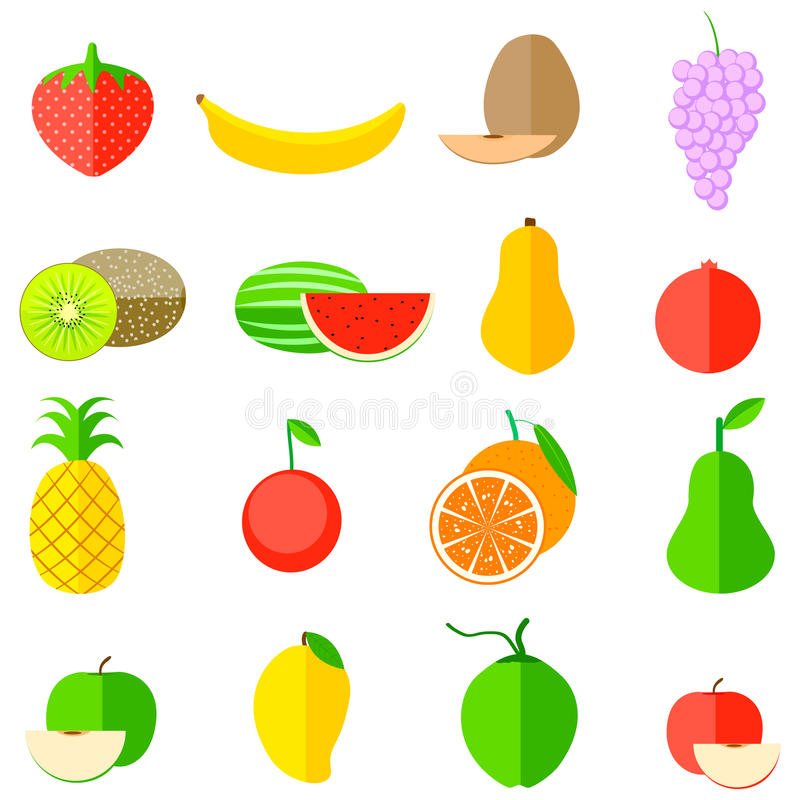 Owocowa ikona ilustracji