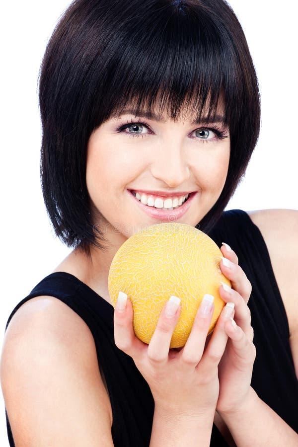 owocowa kobieta obraz stock