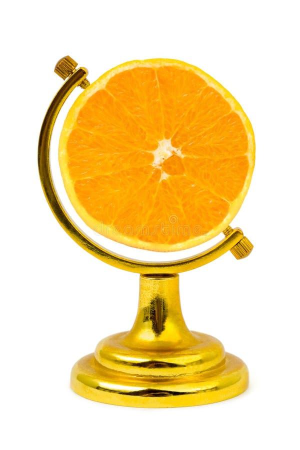 owocowa kula ziemska lubi pomarańcze zdjęcia stock