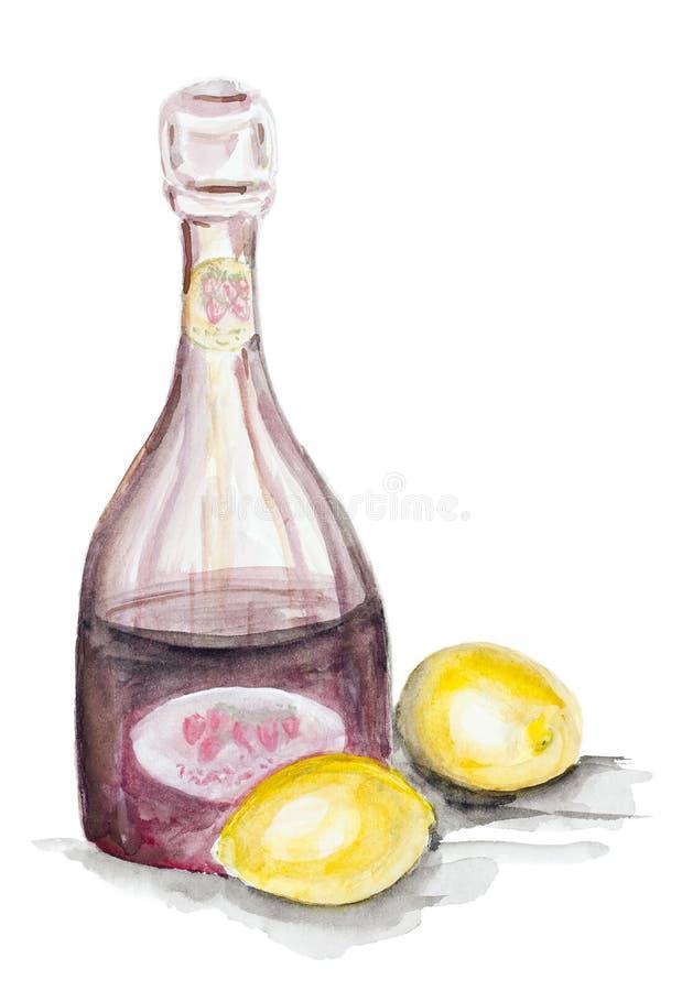 Download Owocowa lemoniada ilustracji. Ilustracja złożonej z nikt - 28950526