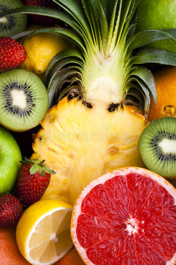 owocowa rozmaitość zdjęcie royalty free