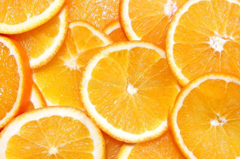 owocowa tło pomarańcze obrazy stock