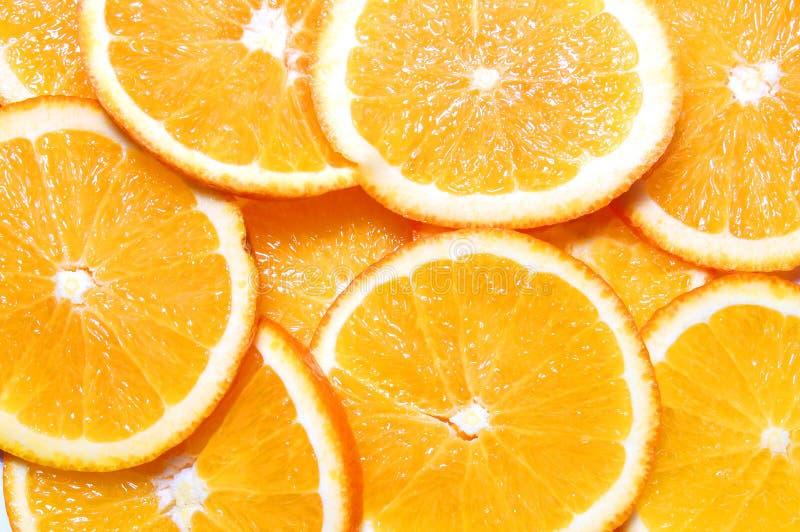 owocowa tło pomarańcze fotografia royalty free