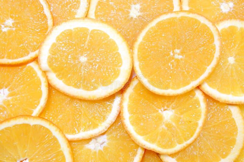 owocowa tło pomarańcze fotografia stock