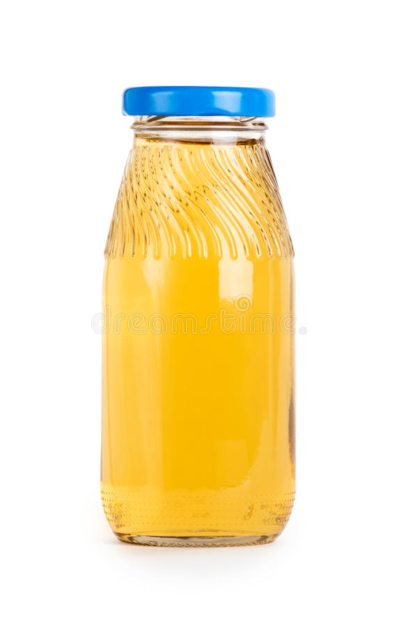 Owocowego soku butelka obraz royalty free