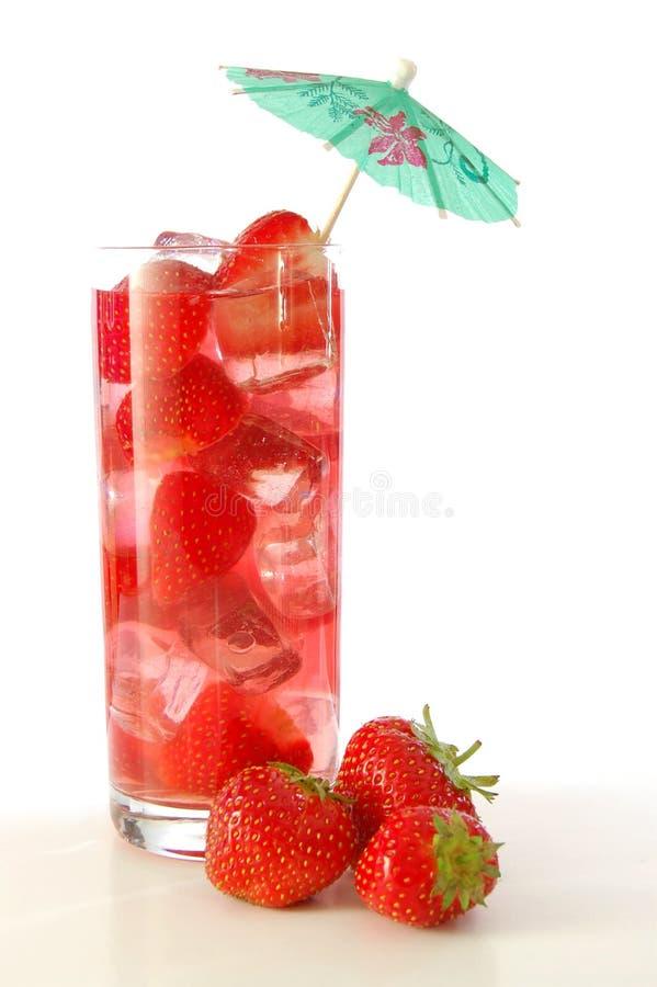 owocowego soku truskawka zdjęcia stock
