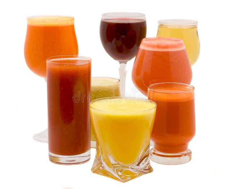 owocowego soku warzywo zdjęcia stock