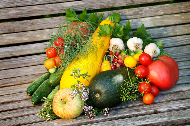 owocowi warzywa obraz stock