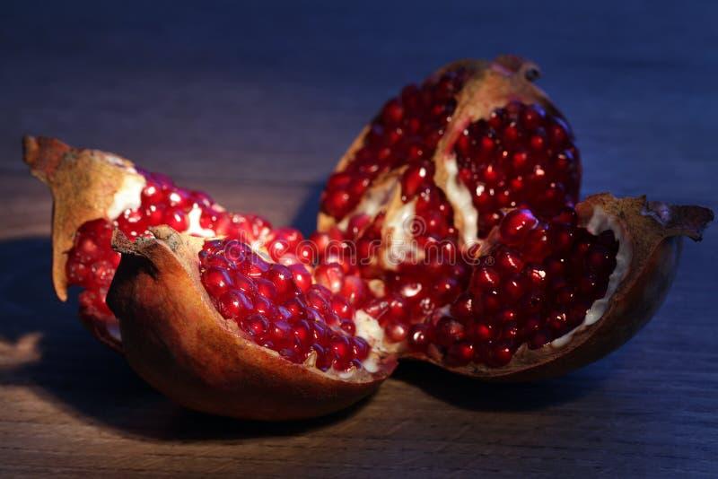 Owocowy granatowiec fotografia stock