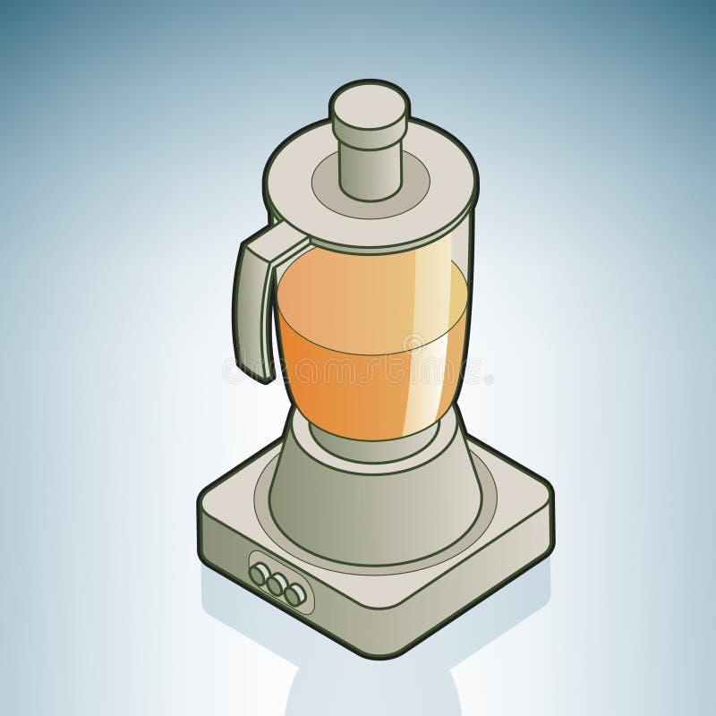 owocowy juicer ilustracji