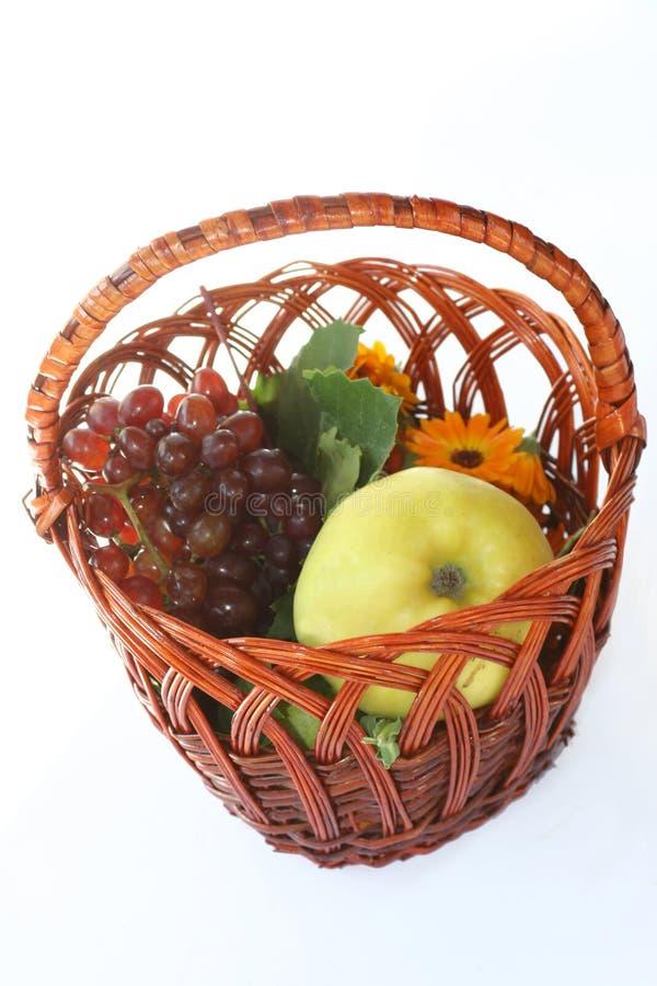 owocowy kosza winograd zdjęcie stock
