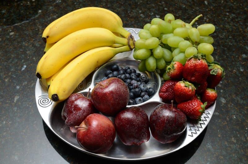 owocowy półmisek obraz stock