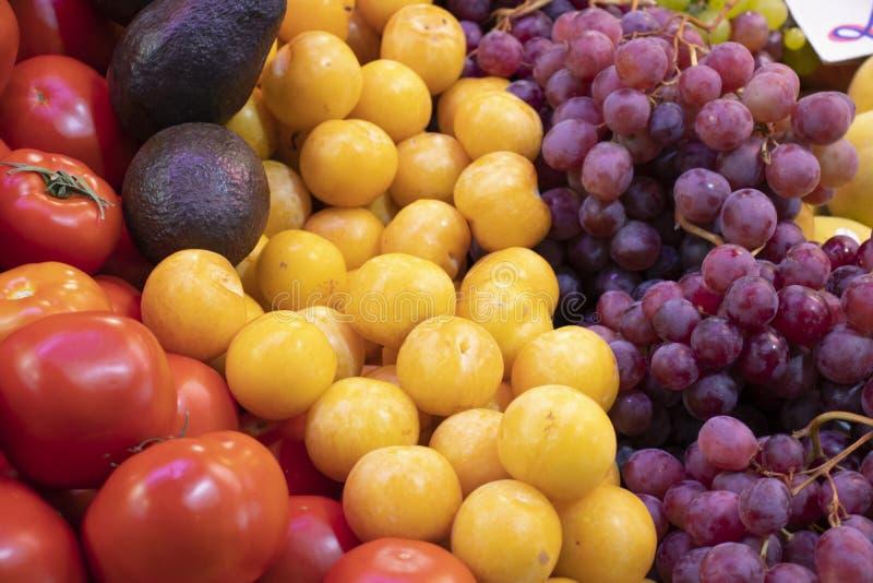 Owocowy pełny ekran zdjęcie stock