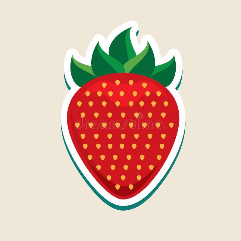 Owocowy projekt ilustracji