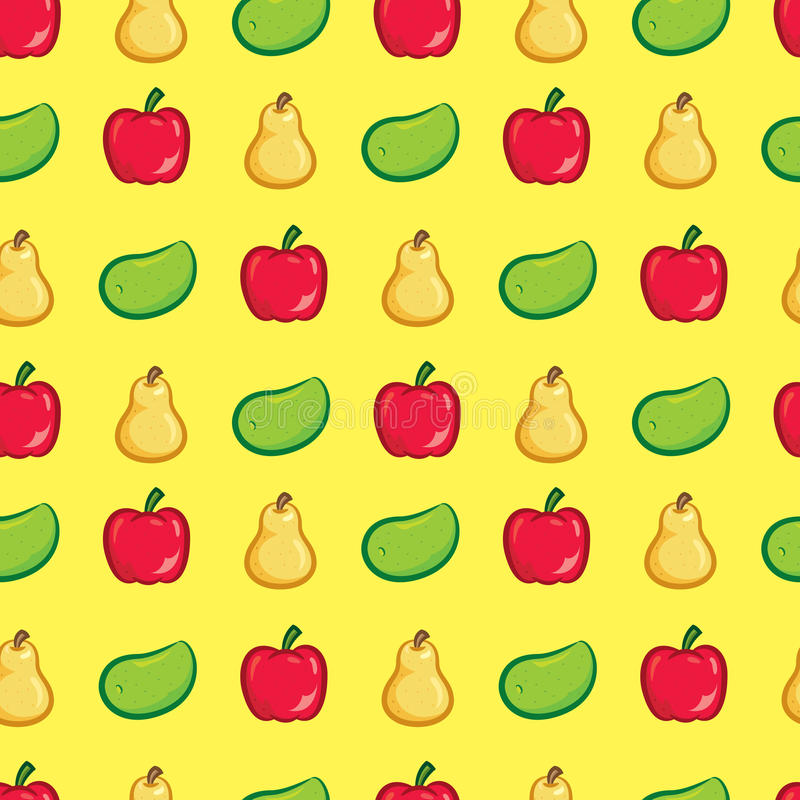 Owocowy tło ilustracji