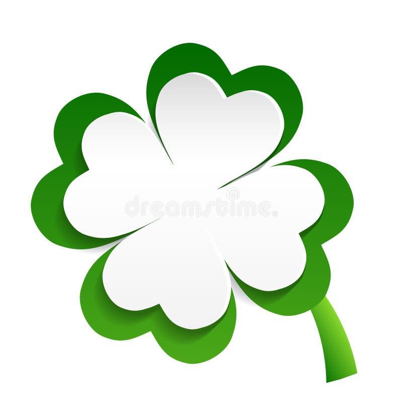 Oxalide petite oseille irlandais illustration libre de droits