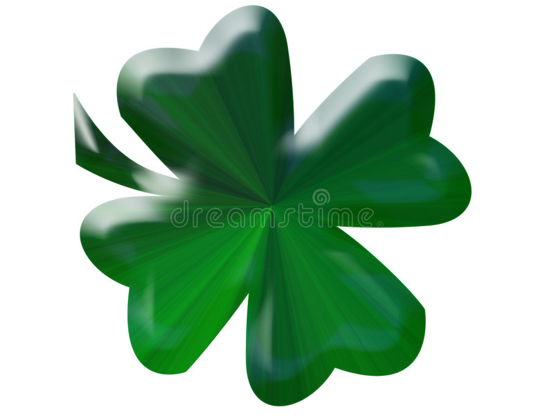 Oxalide petite oseille vert illustration libre de droits