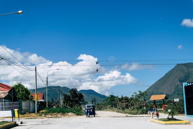 Oxapampa Perù fotografia stock libera da diritti