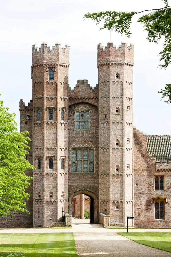 Oxburgh Hall images stock