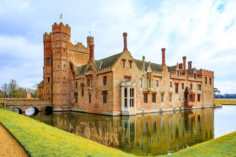 Oxburgh Hall National Trust royalty-vrije stock afbeelding