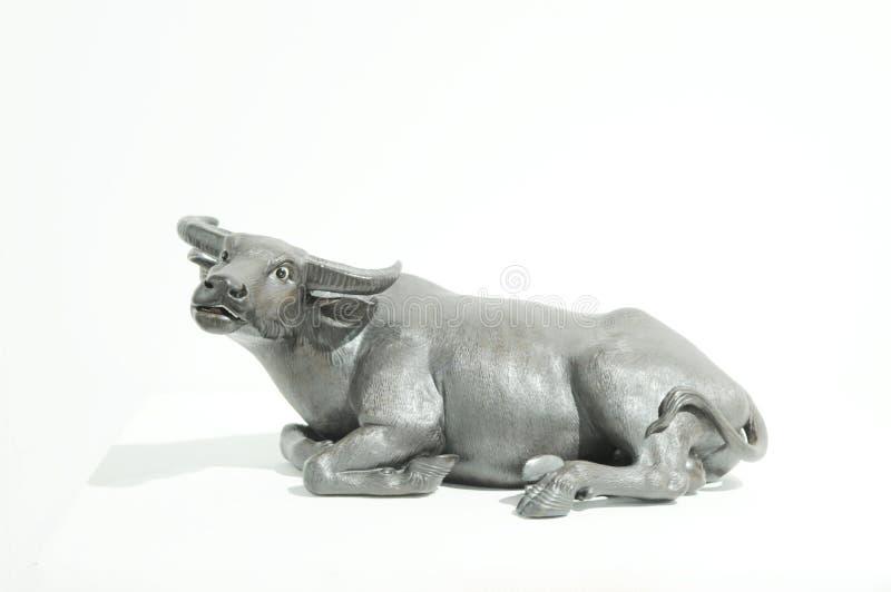 oxeskulptur royaltyfria foton