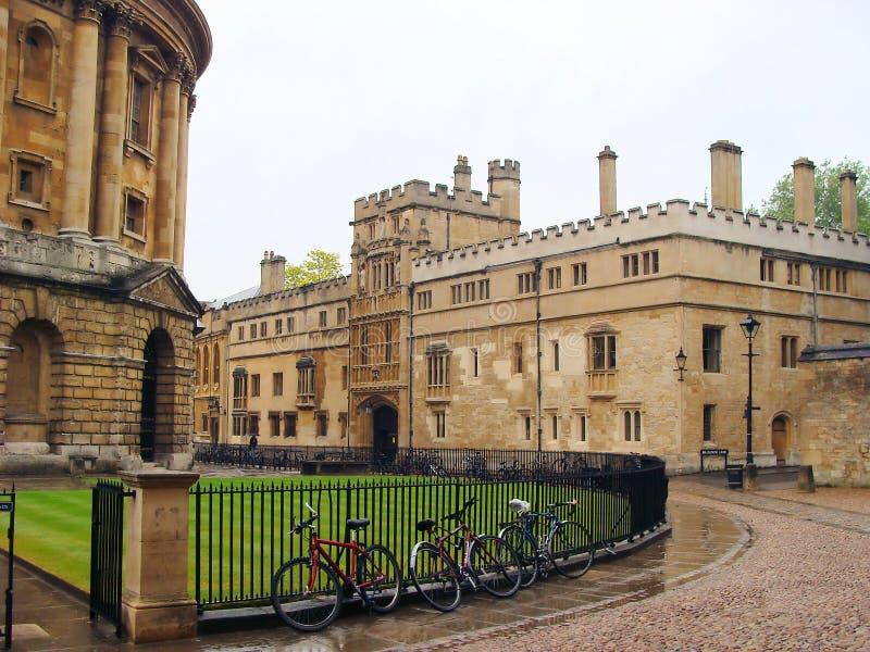 oxford royaltyfri bild
