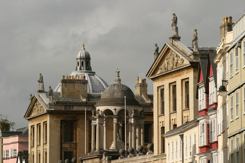 Oxford lizenzfreie stockfotos