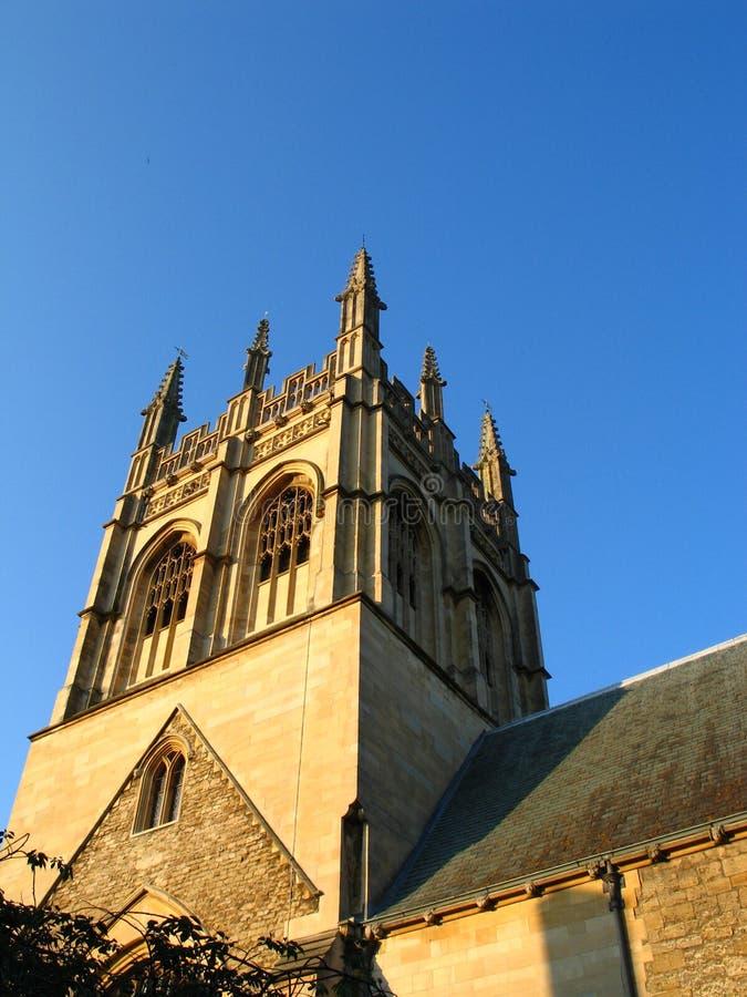 Oxford am Abend lizenzfreie stockfotografie