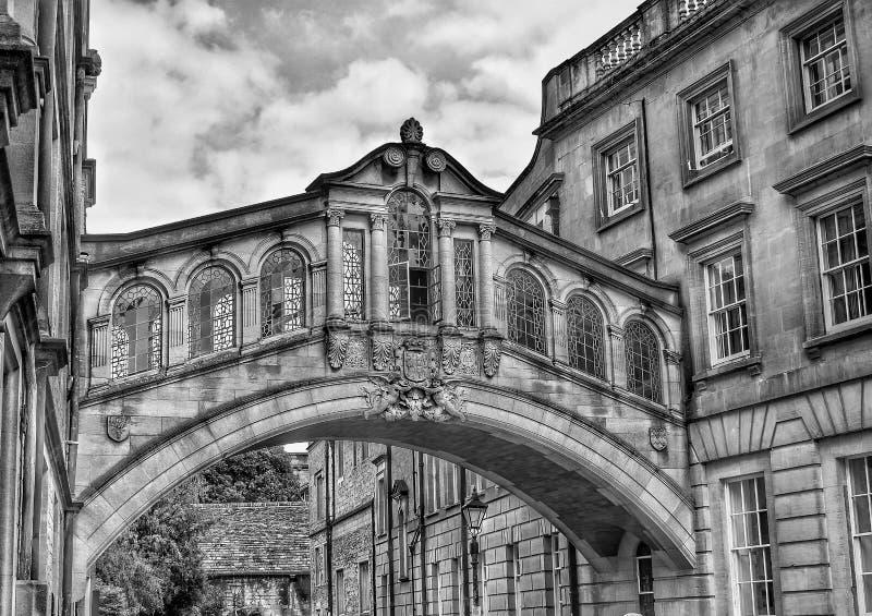 Oxford. Bridge, summer, monuments, picturesque stock image
