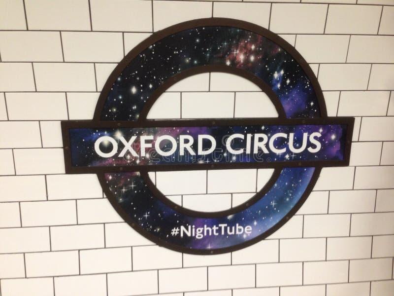 Oxford cirkus royaltyfri fotografi