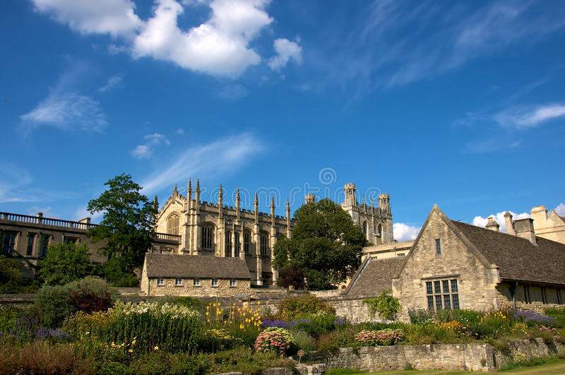 Oxford College stock images