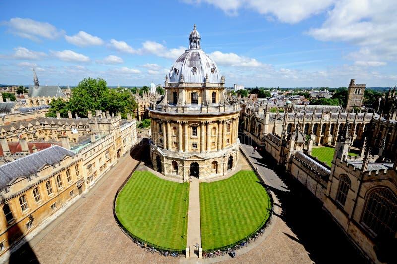 Oxford kamery radcliffe obraz stock