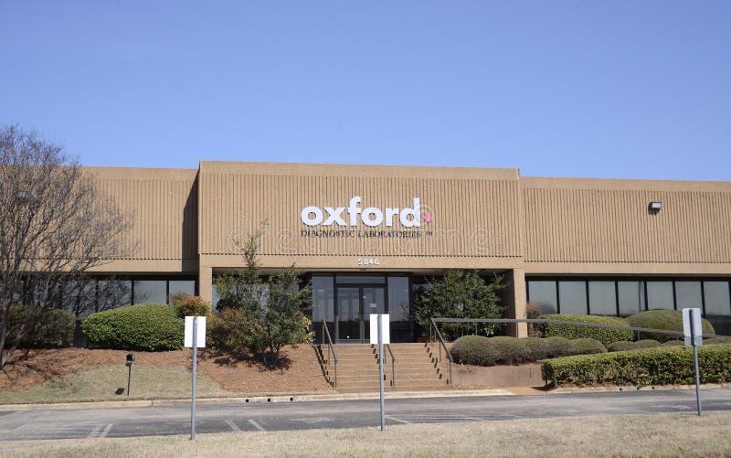 Oxford Kenmerkende Laoratories, Memphis, TN royalty-vrije stock afbeeldingen