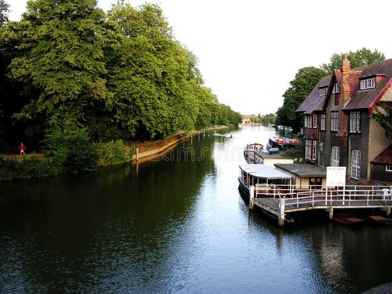 Oxford-Landschaft lizenzfreies stockbild